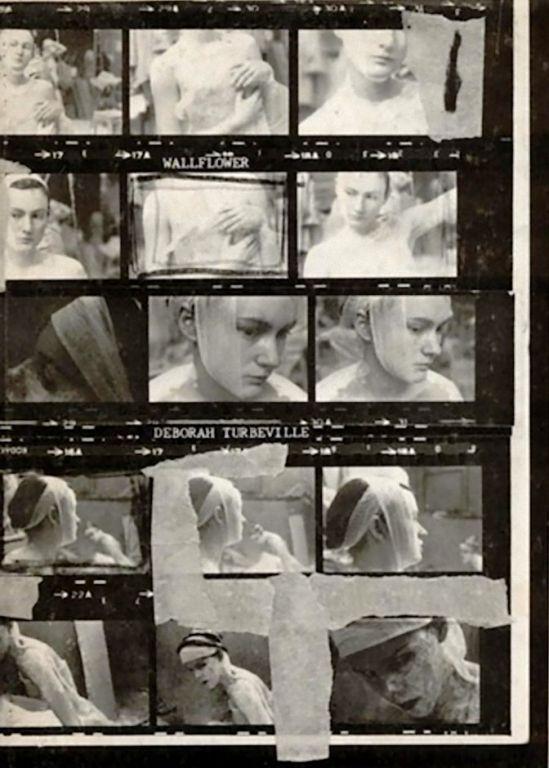 "Deborah Turbeville, planche contact, Ecole Des Beaux Arts,1977 from ""Wallflower"" (Hardcover – 1978)"