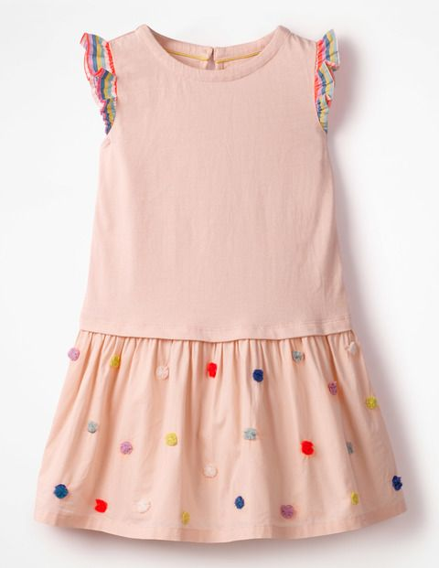 Gewebtes Jerseykleid Provence Altrosa Madchen Sommerkleider Kleider Fur Madchen Und Madchen Kleidung