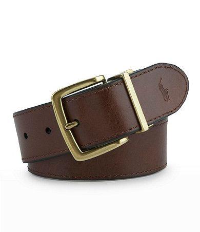 polo ralph s reversible black brown belt fash