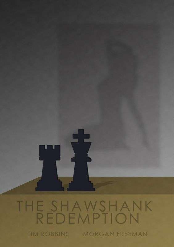 I need help with media studies, Shawshank Redemption movie poster!?