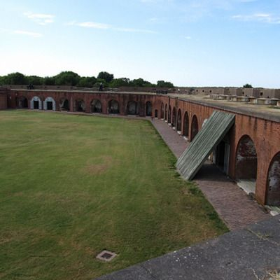 Fort Pulaski National Monument is one of the best things to do in Savannah, GA