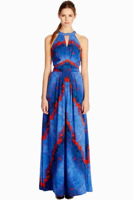 (f)unfashionable Warehouse Lava Maxi Dress