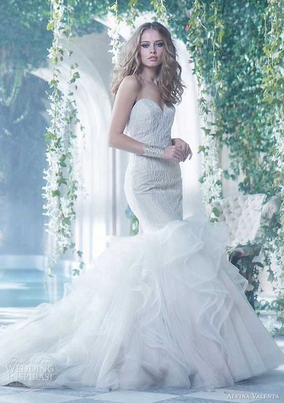 Alvina Valenta Spring 2014 Wedding Dresses | Wedding Inspirasi