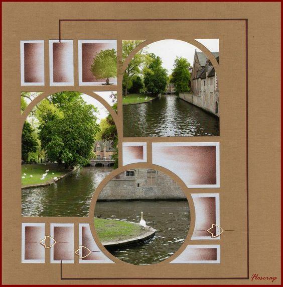 1010 - Photo de Bruges et ses envrons,mai 2010 - Flopassionscrap