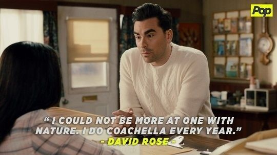 18 Times David Rose From Schitt S Creek Was Simply The Best Schitts Creek Tv Show Quotes Parks N Rec