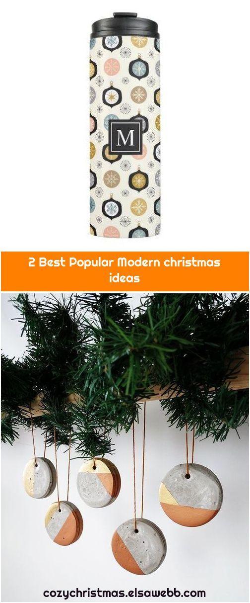 2 Best Popular Modern Christmas Ideas Modern Christmas Mid Century Modern Christmas Modern Christmas Decor