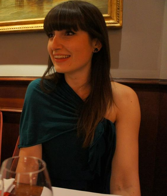 Teal tencel wrap worn as a dress
