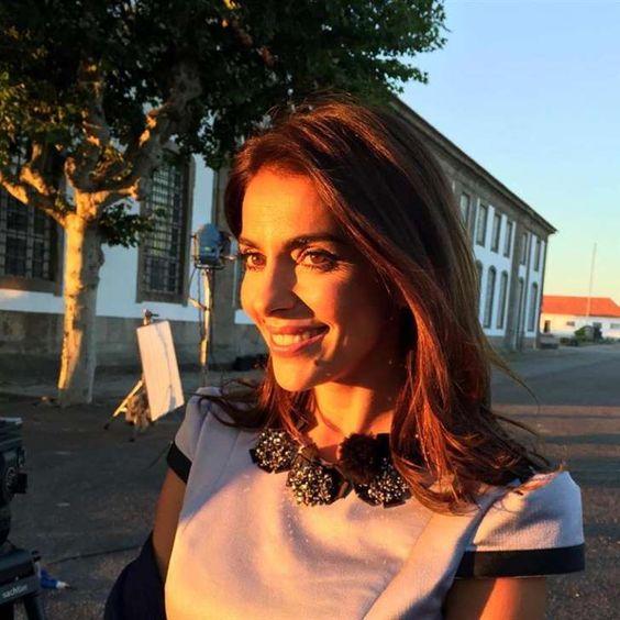Catarina Furtado sofre acidente durante filmagem