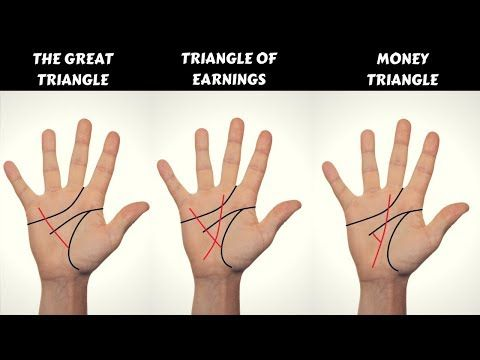 Do You Have These Money Triangles In Your Hands Palmistry Youtube Palmistry Palmistry Reading Palm Reading