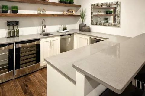 25 Modern Kitchen Countertop Ideas 2021 Fresh Designs For Your Home Cheap Kitchen Remodel Kitchen Remodel Small Cheap Kitchen Countertops