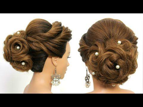 Bridal Updo Tutorial Wedding Prom Hairstyles For Long Hair Youtube Prom Hairstyles For Long Hair Hair Styles Long Hair Styles