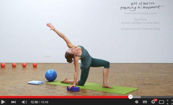 Inspiration in Bewegung: Slow Flow - Rücken kräftigen und Hüfte lösen