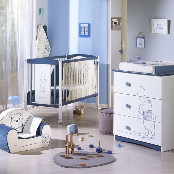 Winnie the Pooh baby's room... My nursery was Pooh Bear themed, and any kids I have will get the same!