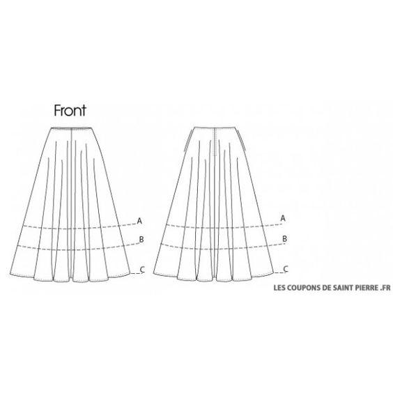 comment realiser une jupe a panneaux - Recherche Google