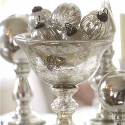 Bowl and antique ornaments