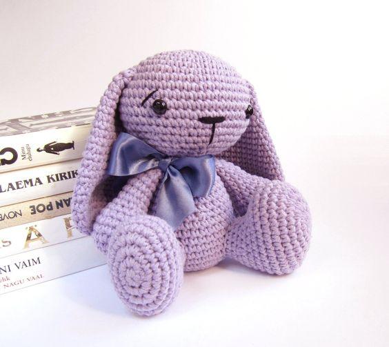 Amigurumi Floppy Ear Bunny : Bunny rabbit, Rabbit and Bunnies on Pinterest