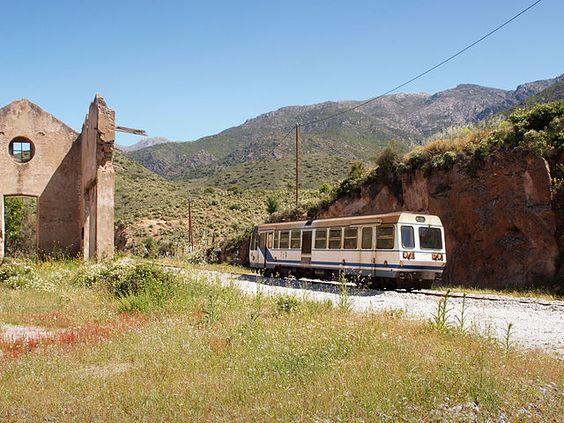 Région de Ponte-Leccia - L'ancienne gare de Pietralba