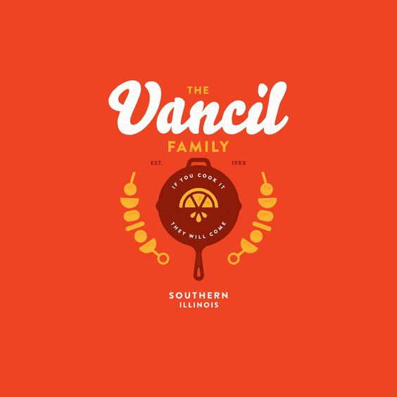 Vancil Family Crest by Ryan Vancil