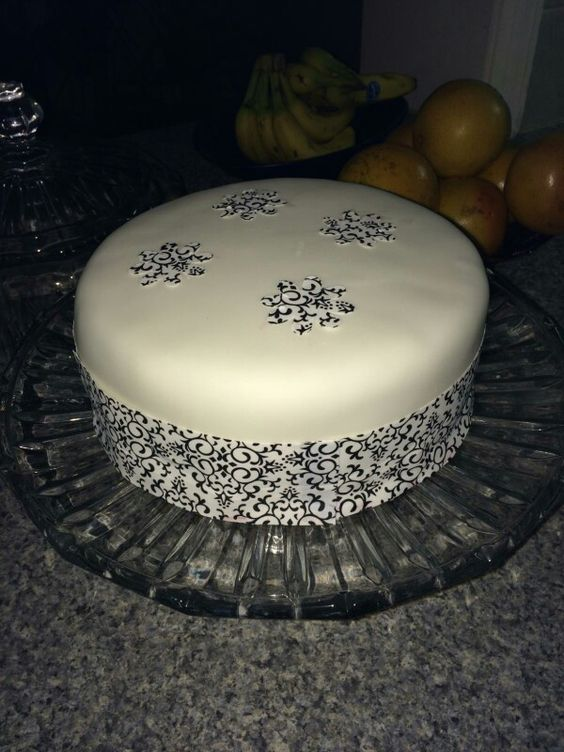 First attempt at fondant