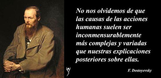 Fyodor Mikhaylovich Dostoyevsky (1821 – 1881), fue un novelista y periodista ruso cuyo análisis psicológico del alma humana tuvo una gran influencia en la novela del siglo XX. Nunca antes un autor ruso había examinado tan minuciosamente las complejidades psicológicas de los sentimientos del hombre.