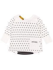 Tee-shirt tunique manches longues Romy & Aksel avec détail au dos