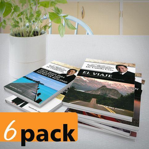 6 pack - Colección del Éxito y la Motivación del Dr. Camilo Cruz
