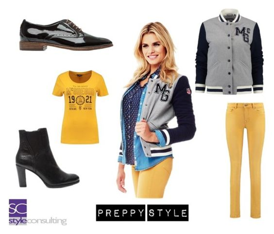 Persoonlijke stijl: Preppy style. By Margriet Roorda on Polyvore featuring mode.