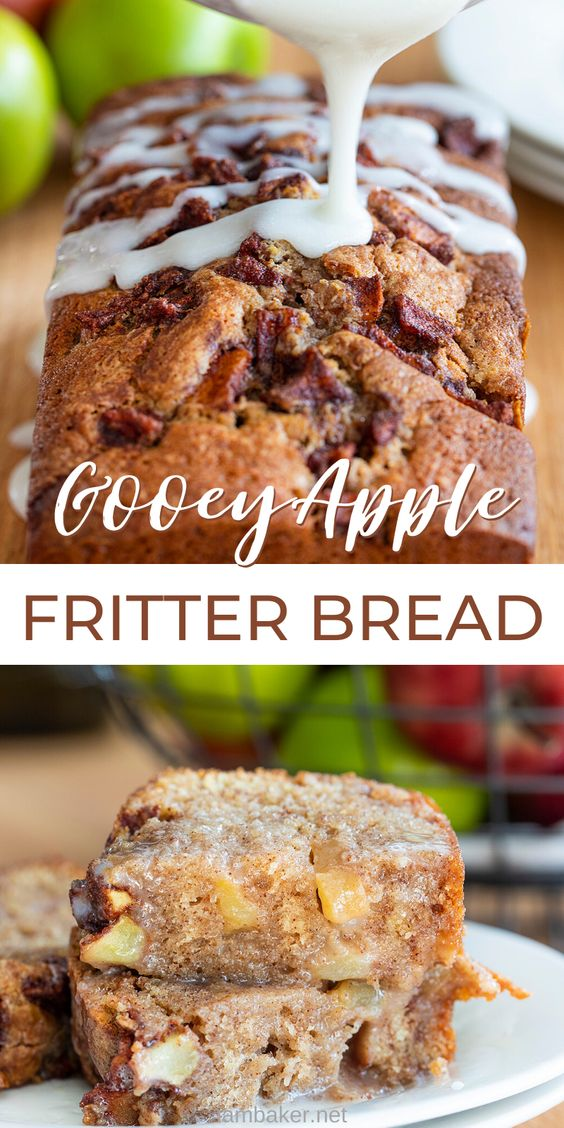 Old Fashioned Apple Fritter Bread!