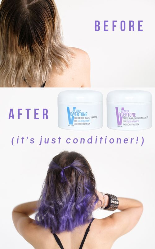 How To Use The Overtone Lilac Kit Overtone Hair Lilac Hair Overtone