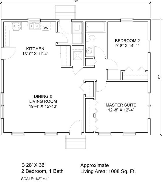 24 x 36 floor plans ft 2 1 18150 please select 2 for Simple cabin plans 24 by 24
