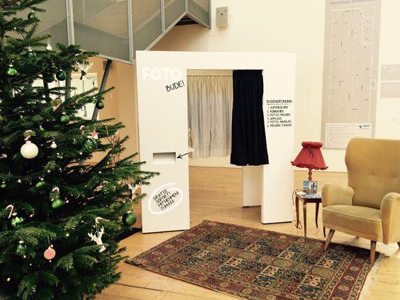Fotoautomat an Weihnachten