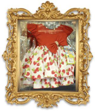 Vestido Moranguinho REF: SA3227