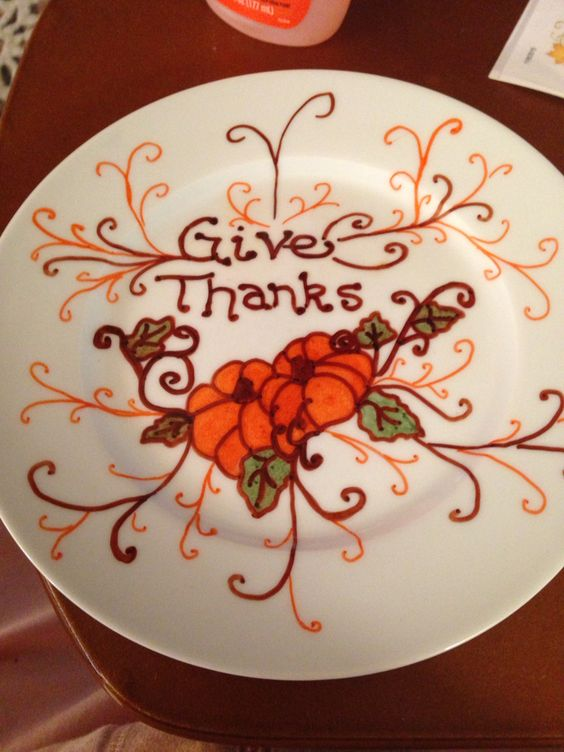 Small giving plate