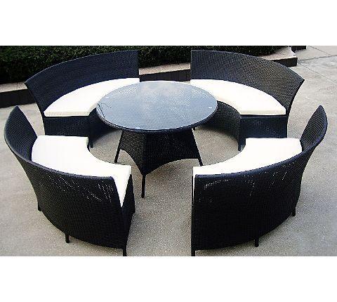 Baidani Rattan Garten Sitzgruppe Rondello Xxl Gartenxxl De Gartenmobel Sets Gartenmobel Gartenmobel Set Holz