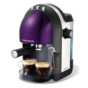 Morphy Richards Purple Coffee Maker : Purple Coffee Maker ... Morphy Richards Purple Espresso Coffee Maker - Meno 47587 - Brennands ...