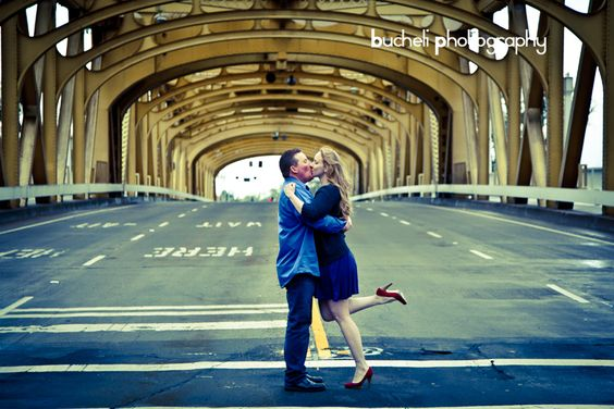 My engagement photo shoot