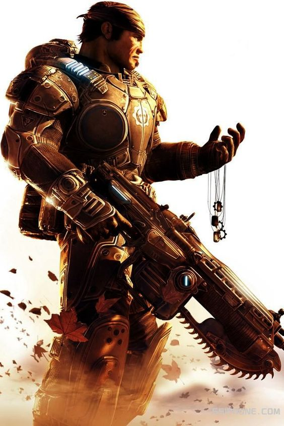 Gears of War... Need to start playing Co-op on this game again.