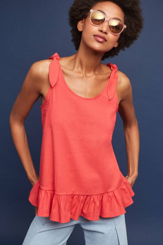 Shop the Phoebe Tie-Strap Top and more Anthropologie at Anthropologie today. Read customer reviews, discover product details and more.