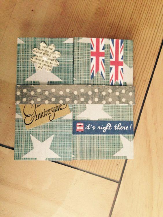 Carte d'anniversaire sur le thème de l'Angleterre : Cartes par del-crea-fete