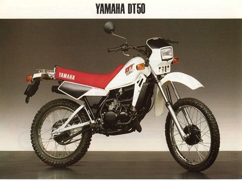 yamaha dt50 1982 bicycles scrambler pinterest search and google. Black Bedroom Furniture Sets. Home Design Ideas