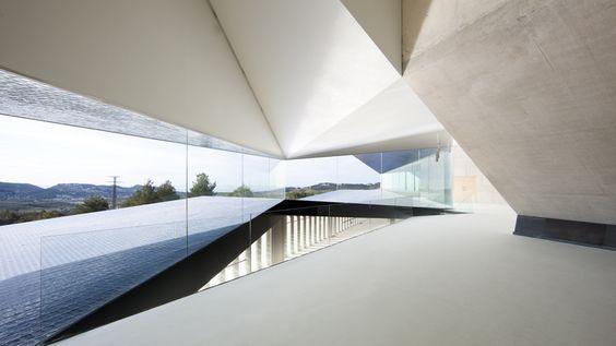 Magnificent #architecture Municipal Auditorium of Teulada by #Francisco Mangado