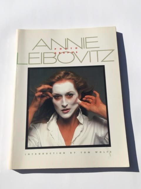 Vintage Photography Book Annie Leibovitz by kraftskeepmesane  #vintagephotography #annieleibovitz #forsale #etsy