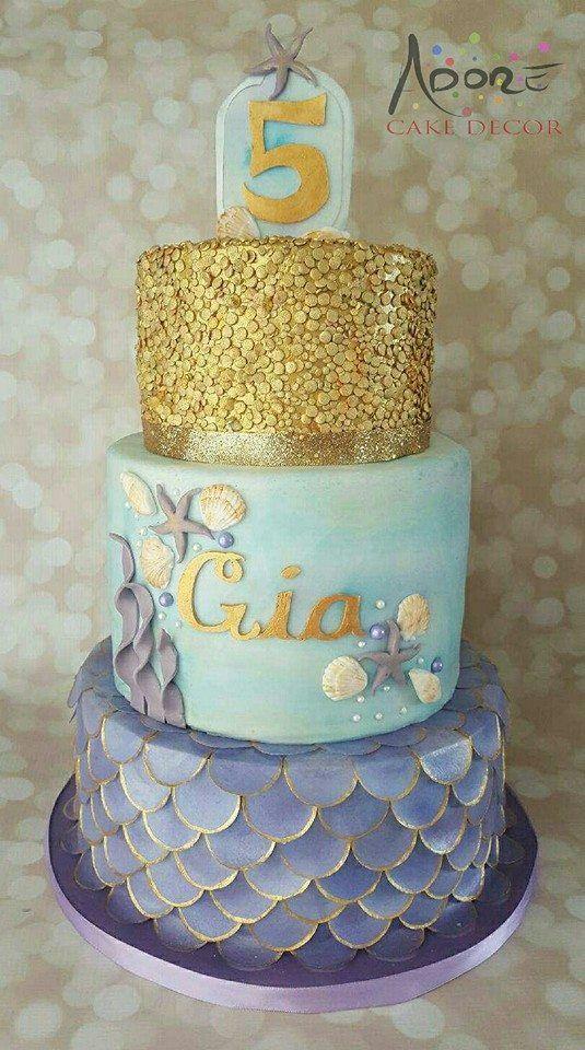 Birthdays, Mermaid birthday cakes and Cakes on Pinterest