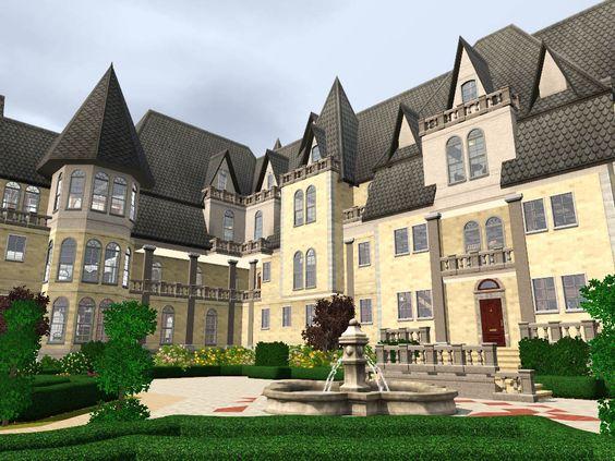 Grothfort Castle Castle Sims House Sims House Plans