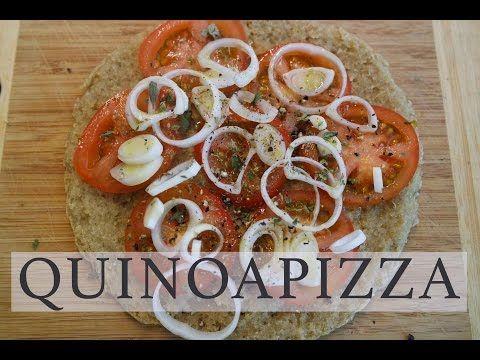 QUINOA PIZZA | LIGHT & VEGAN | CasaSuperStar - YouTube