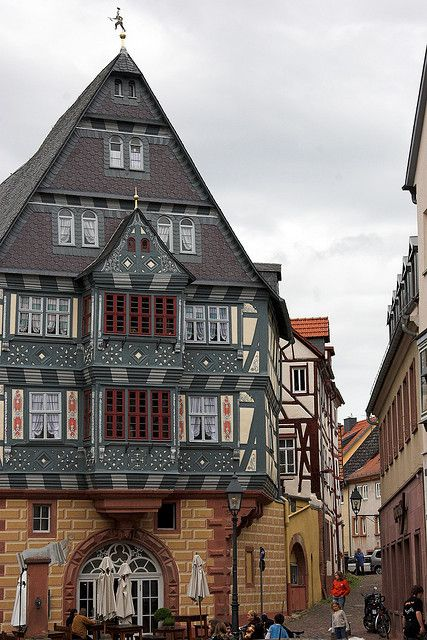 Oldest German hotel still in operation. Hotel and Gasthaus zum Riesen in Miltenberg was first mentioned in 1314.