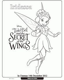 Disney Secret Of The Wings Winter Fairy Free Printables