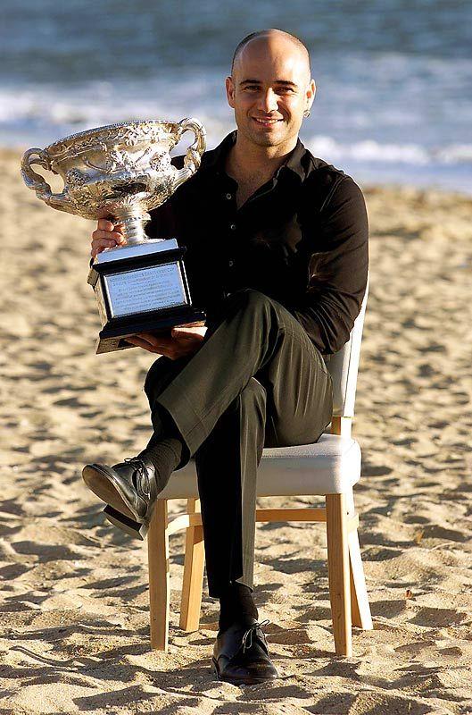 Andre Agassi 2001 Australian Open