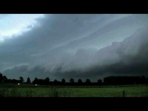 Severe thunderstorm, Miramichi, NB 2011
