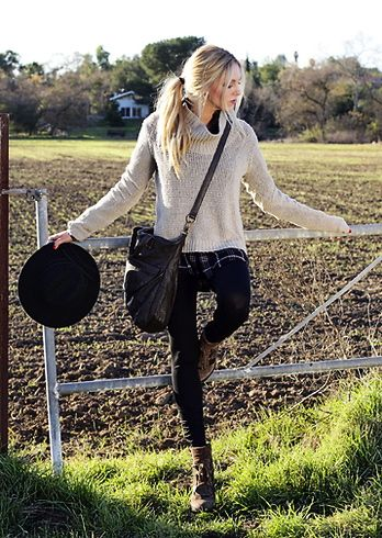 Modern Country Winter Fashion